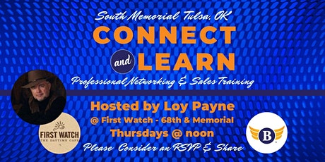 South Memorial, OK | Connect & Learn Professional Networking & Sales Training tickets