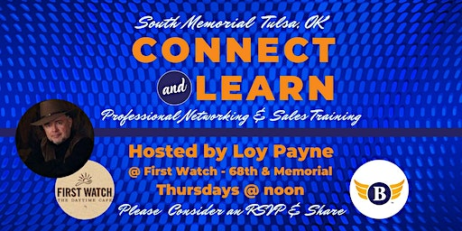 South Memorial, OK | Connect & Learn Professional Networking & Sales Training