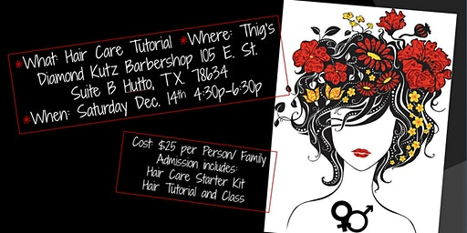 THIG'S DIAMOND KUTZ PRESENTS HAIR CARE 101 Part 1