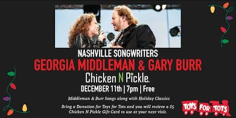 Georgia Middleman & Gary Burr tickets