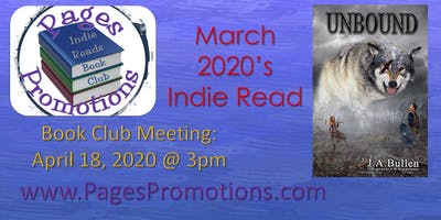 "Indie Reads Book Club - March 2020 ""Unbound"""