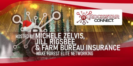 Free Wake Forest Elite Rockstar Connect Networking Event (December, near Raleigh) tickets