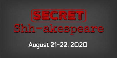 The Rustic Mechanicals' SECRET SHH-AKESPEARE at The Buckhannon Opera House  tickets