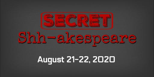 The Rustic Mechanicals' SECRET SHH-AKESPEARE at The Buckhannon Opera House
