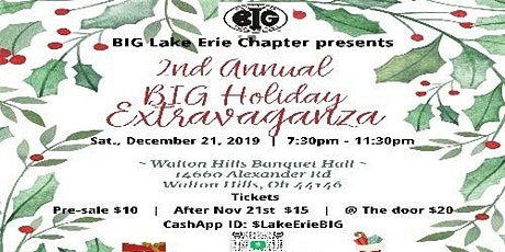 Lake Erie Chapter of BIG 2nd Annual Holiday Extravaganza tickets