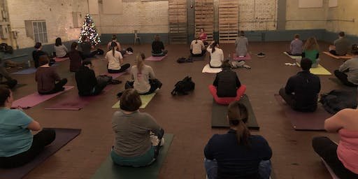 Yoga + Beer + Holiday Dessert at Old Bakery Beer Company