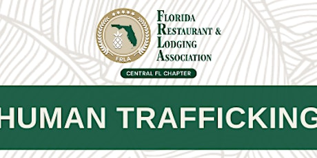 FRLA Human Trafficking Discussion tickets