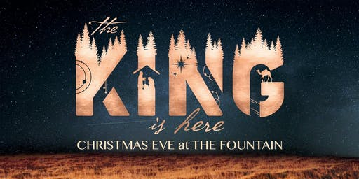 Christmas Eve Candlelight Service at THE FOUNTAIN CHURCH