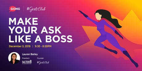 (S)Hero Workshop Series: Make Your Ask Like A Boss tickets