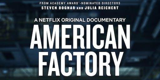PGA 2020 Documentary Nominee, American Factory - Film Screening