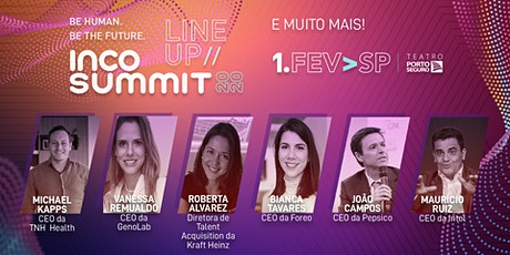INCO SUMMIT 2020 - Be Human, Be The Future ingressos