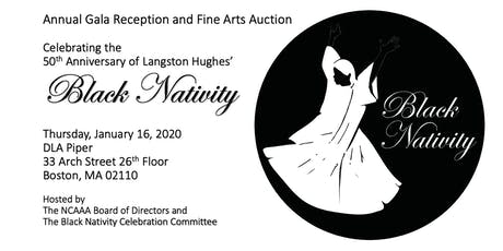 Celebrating 50 Years of Langston Hughes' Black Nativity ~ Annual Gala Reception and Fine Arts Auction  tickets