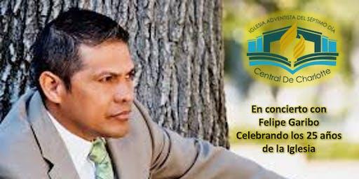 Concierto Agradecimiento 25 años con Felipe Garibo