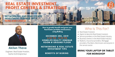 Networking Event & Seminar: Real Estate Investment Profit Centers and Strategies tickets