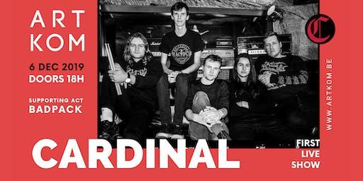 Cardinal (First Show) + BADPACK @ ARTKOM - 06/12/'19