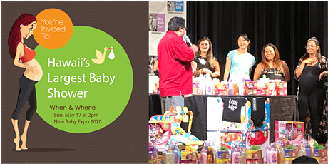Hawaii's Largest Baby Shower - New Baby Expo 2020 tickets