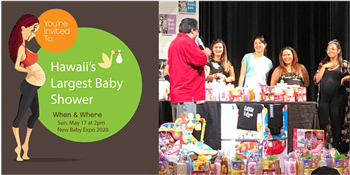 Hawaii's Largest Baby Shower - New Baby Expo 2020