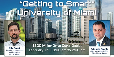 """Connected Cities  Tour-""""Getting to Smart"""" Miami tickets"""