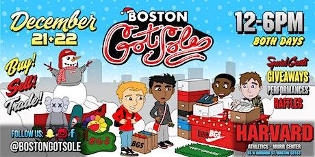 Boston Got Sole at Harvard tickets