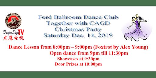 Ford Ballroom Dance Club / CAGD Christmas Party