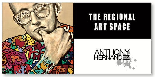 ANTHONY HERNANDEZ - LIVE PAINTING - THE REGIONAL - ART SPACE