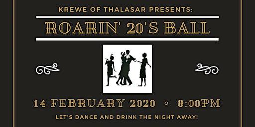 2020 Krewe of Thalasar Roaring 20's Mardi Gras Ball
