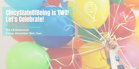 CincyStateOfBeing 2nd Birthday Yoga Sculpt Celebration Class! tickets