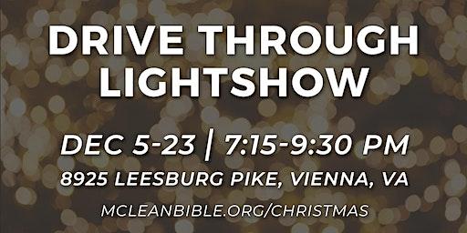 Christmas Drive Through Lightshow