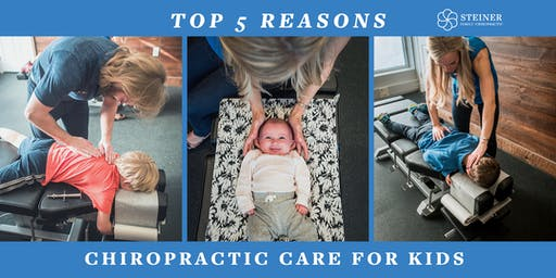 Webinar: Top 5 Reasons for Chiro Care for Kids