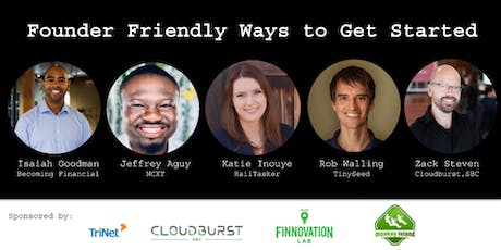 Founder Friendly Ways to Get Started tickets