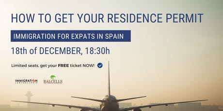 How to GET YOUR RESIDENCE PERMIT in Spain tickets
