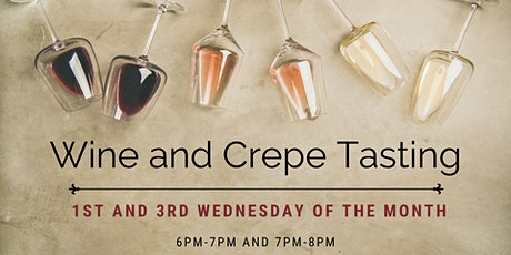 Wine and Crepe Tasting At French Gourmet Bistro tickets