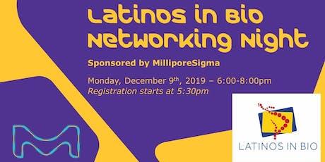 Latinos in Bio Networking Night tickets