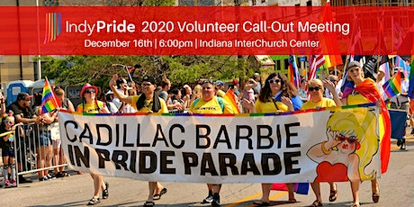 Indy Pride 2020 Volunteer Call-Out Meeting tickets