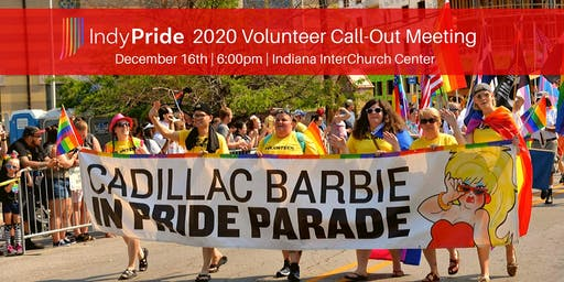 Indy Pride 2020 Volunteer Call-Out Meeting