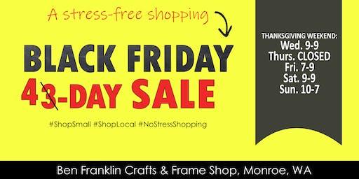 Black Friday Weekend Shopping