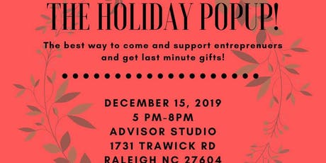 Holiday Pop Up tickets
