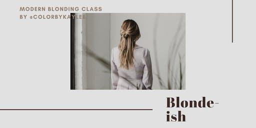 Blonde-ish Class