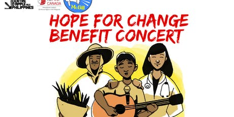 HOPE for CHANGE Benefit Concert tickets