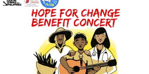 HOPE for CHANGE Benefit Concert