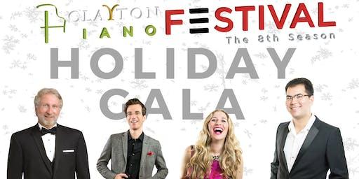 Clayton Piano Festival Holiday Gala