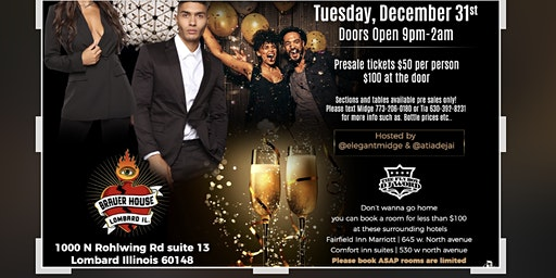 Boots and Blazers New Years Eve Party