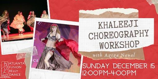 Khaleeji Choreography Workshop with Aziza Nawal