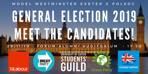 General Election 2019: Meet the Candidates!