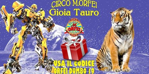 Il Circo M. Orfei a Gioia Tauro, sconti famiglia