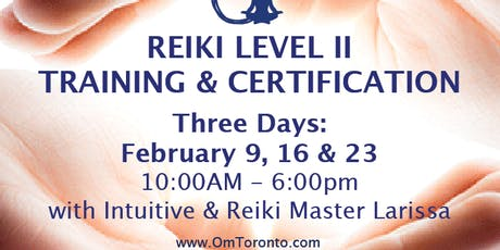 Reiki Level II: Training & Certification tickets