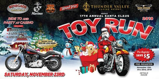 17th Annual Santa Claus Toy Run