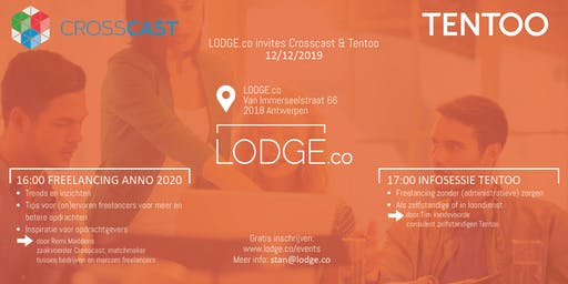 LODGE.co invites Tentoo & Crosscast