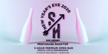 Sir Henri Rooftop New Years Eve Party 2020 tickets
