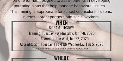 Triple P Primary Care Facilitator Training [January 7-8th, 2020]